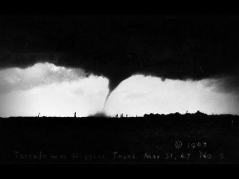 1947 Glazier–Higgins–Woodward tornadoes The 1947 F5 Woodward Oklahoma Tornado YouTube