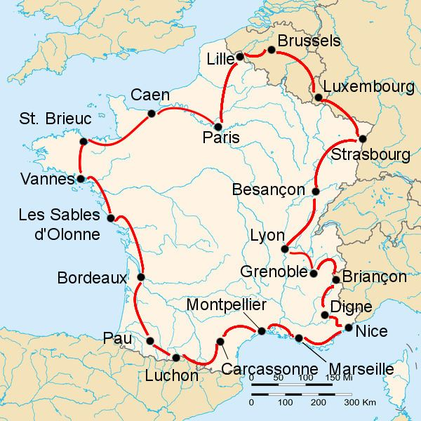 1947 Tour de France, Stage 1 to Stage 11