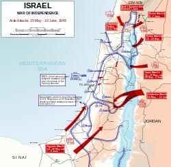 1948 Arab–Israeli War httpsuploadwikimediaorgwikipediacommonsthu