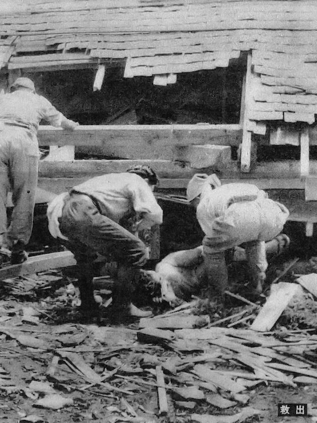 1948 Fukui earthquake httpsuploadwikimediaorgwikipediacommonsbb