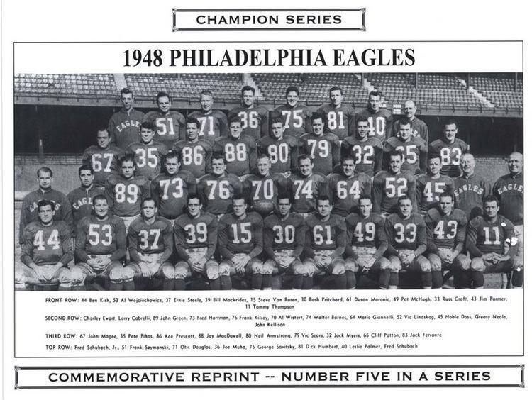 1948 Philadelphia Eagles season i7photobucketcomalbumsy260fritschcards48cham