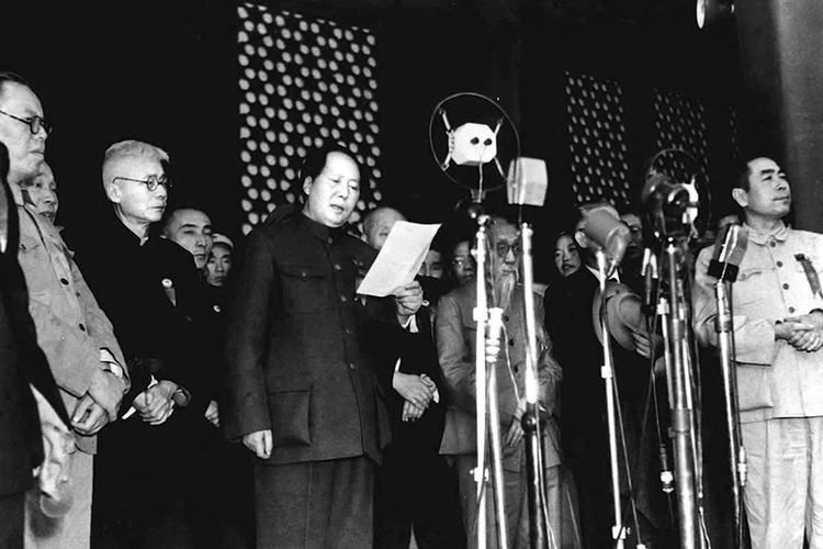 1949 in China