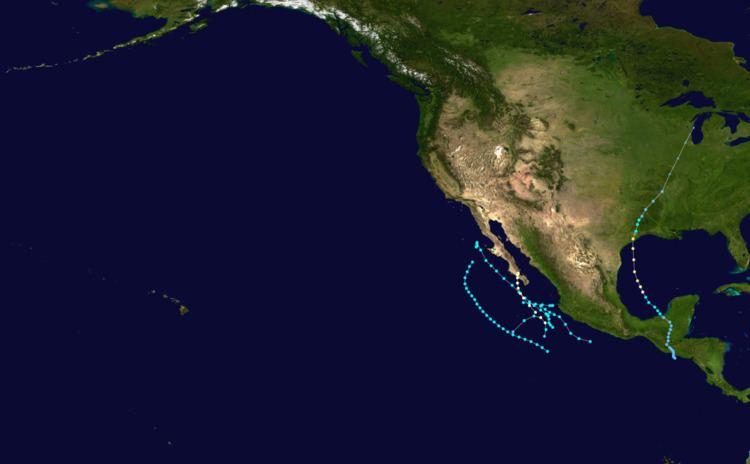 1949 Pacific hurricane season