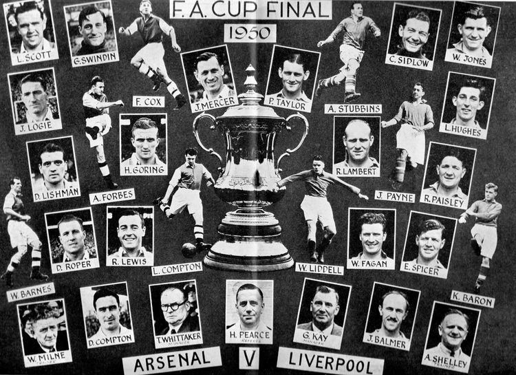 1950 FA Cup Final 062 1950 FA Cup Final part one ArsenalOneTwoFive