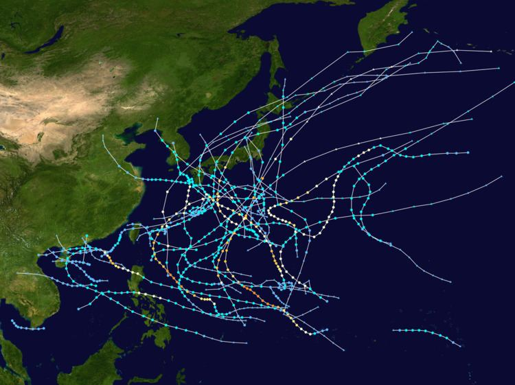 1950 Pacific typhoon season