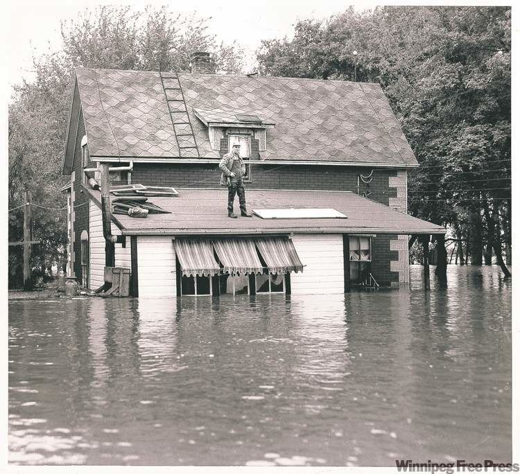 1950 Red River flood We39re all wet Flood of 2011 was not that unusual after all
