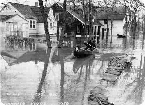 1950 Red River flood Manitoba History J M Bumsted The Manitoba Flood of 1950 An