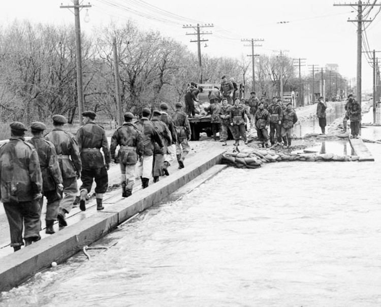 1950 Red River flood ARCHIVED Winnipeg Flood Water SOS Canadian Disasters