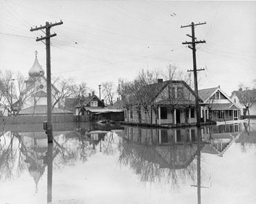 1950 Red River flood Red River The Canadian Encyclopedia