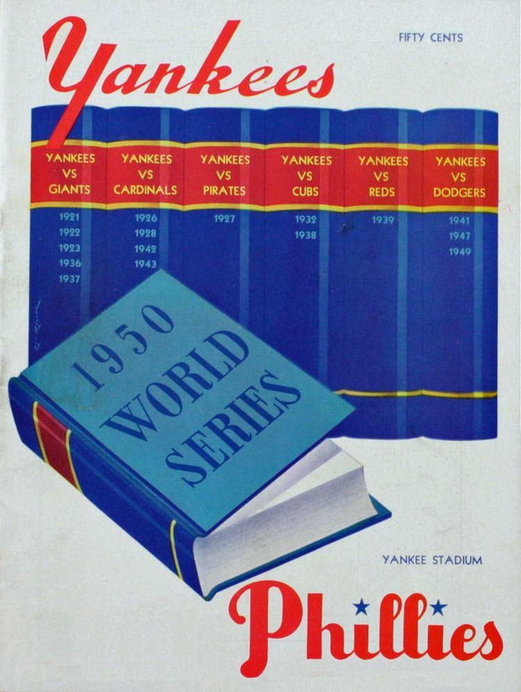 1950 World Series wwwbaseballalmanaccomimages1950WorldSeries