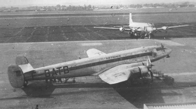 1951 Misrair SNCASE Languedoc crash