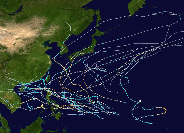 1951 Pacific typhoon season