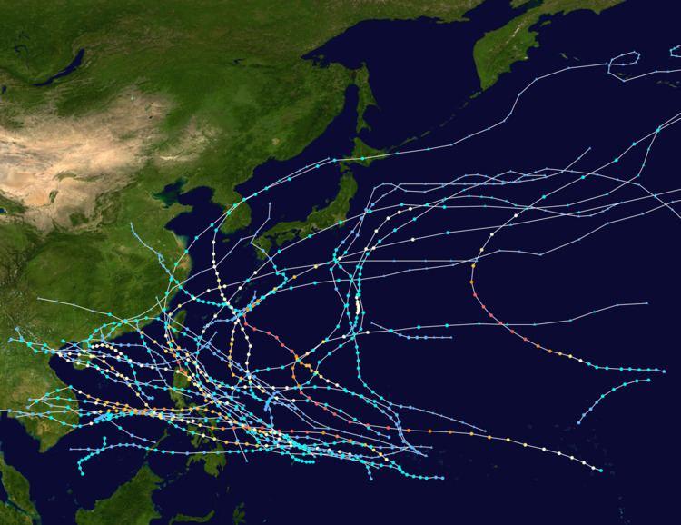 1952 Pacific typhoon season