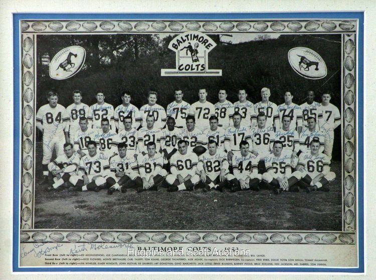 1953 Baltimore Colts season jul12hugginsandscottcompl47935a1953coltsdis