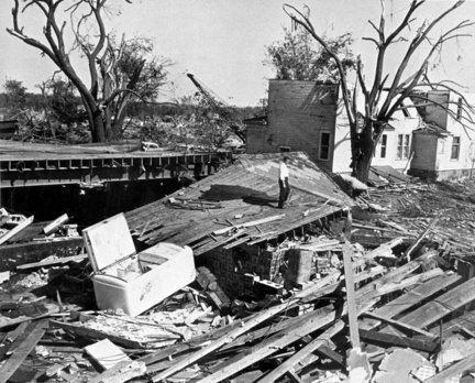 1953 Flint–Beecher tornado 1000 images about beecher tornado flint michigan 1953 on Pinterest