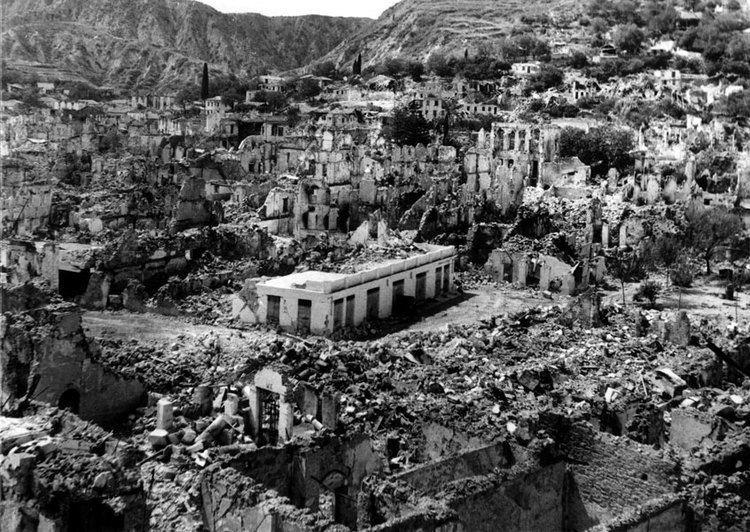 1953 Ionian earthquake EARTHQUAKE Anemon
