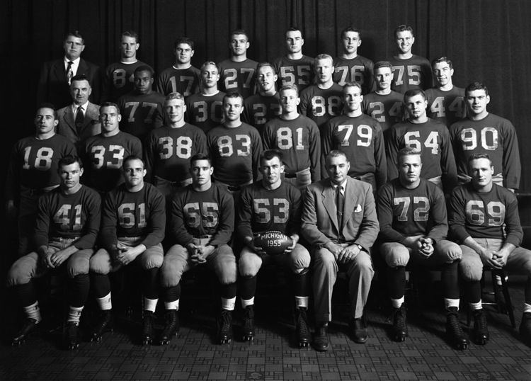 1953 Michigan Wolverines football team