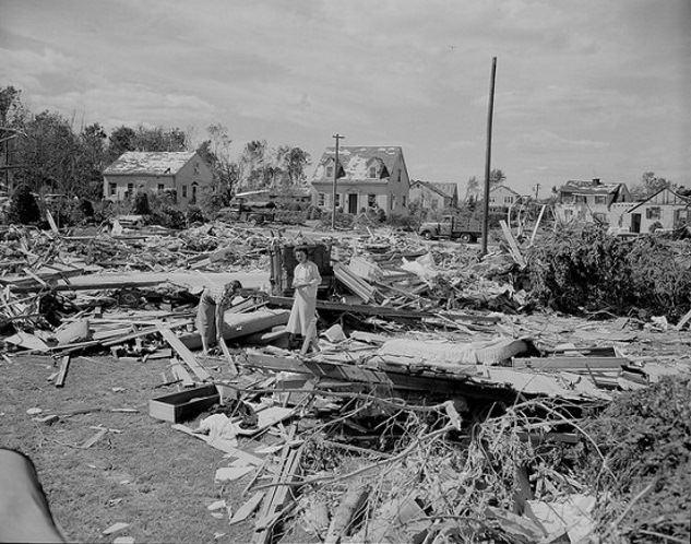 1953 Worcester tornado Flashback Photo The Killer Worcester Tornado of 1953 New England