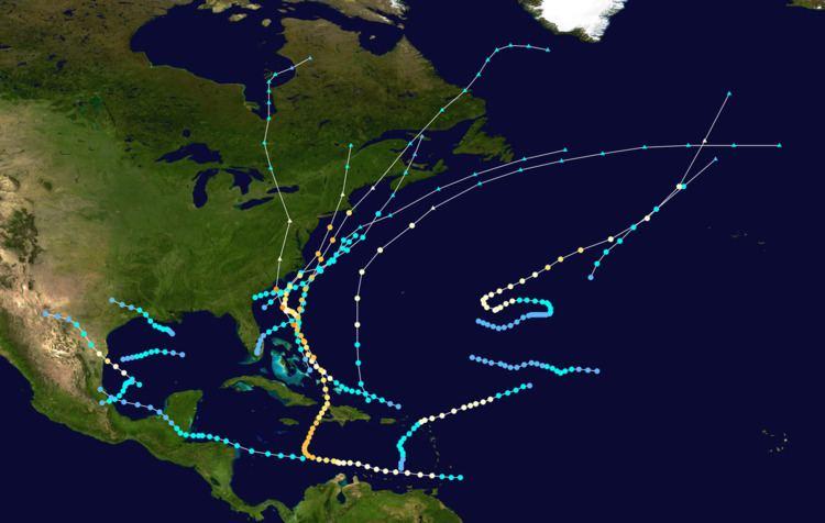 1954 Atlantic hurricane season