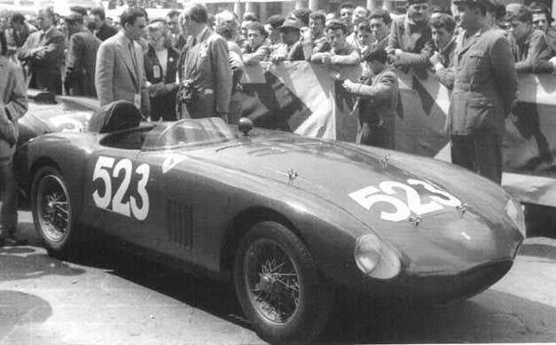 1954 Mille Miglia 1954mille Miglia500 MondialV Marzotto Photo de Ferrari la