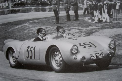1954 Mille Miglia Boom gate or bust Type 550