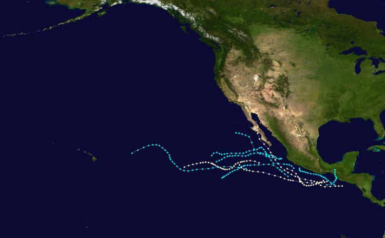 1954 Pacific hurricane season