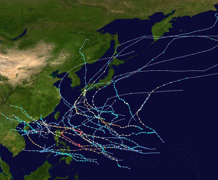 1954 Pacific typhoon season