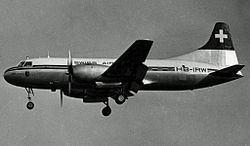 1954 Swissair Convair CV-240 crash httpsuploadwikimediaorgwikipediacommonsthu