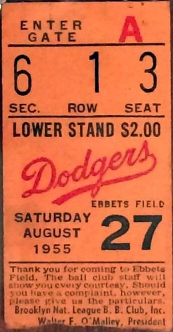 1955 Brooklyn Dodgers season
