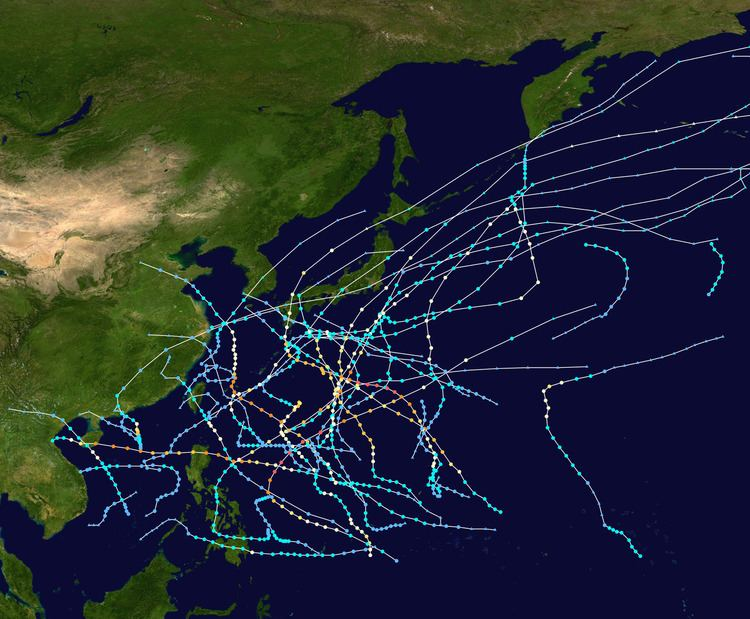 1955 Pacific typhoon season