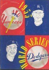 1955 World Series wwwbaseballalmanaccomimages1955wsprogramjpg