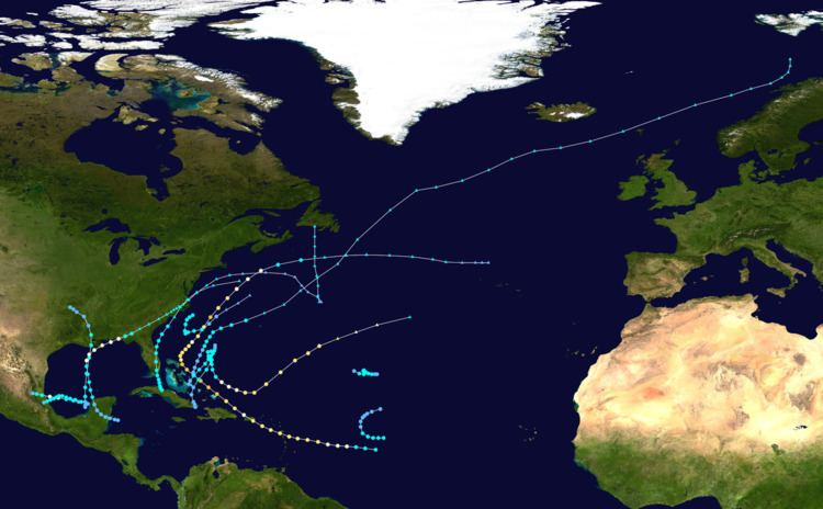 1956 Atlantic hurricane season