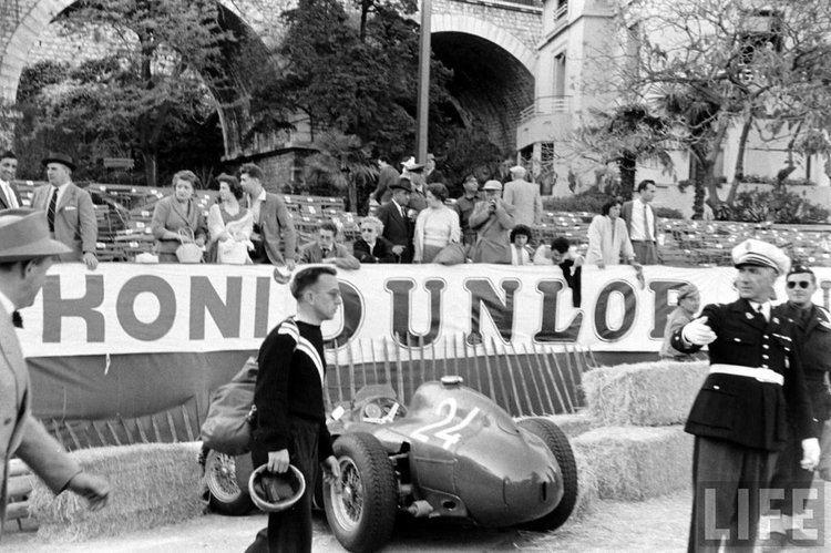 1956 Monaco Grand Prix Behind the scenes at the 1956 Monaco GP The Scarf amp Goggles Social