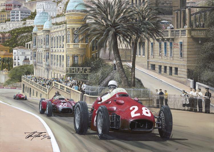 1956 Monaco Grand Prix 1956 Monaco Grand Prix Print