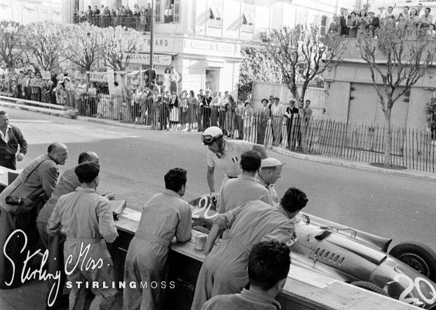 1956 Monaco Grand Prix Stirling Moss Race History 1956 Monaco Grand Prix stirlingmosscom