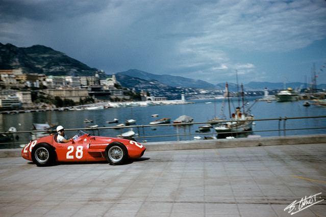 1956 Monaco Grand Prix Video Stirling Moss wins Monaco Grand Prix 1956 Motorsport Retro