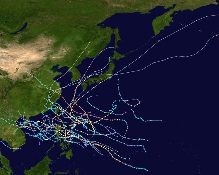 1956 Pacific typhoon season