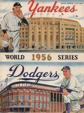 1956 World Series wwwbaseballalmanaccomimages1956wsprogramjpg