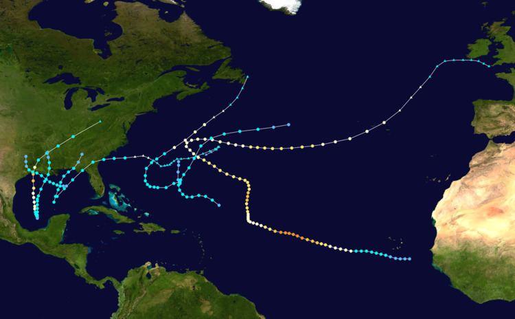 1957 Atlantic hurricane season