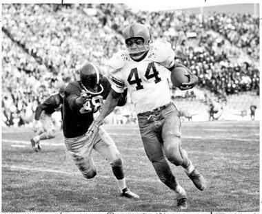 1957 Cotton Bowl Classic mediasyracusecomorangefootballphoto9586935la