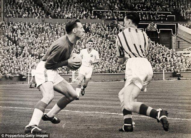 1957 FA Cup Final Aston Villa39s 1957 FA Cupwinning hero Peter McParland recalls