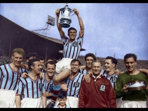 1957 FA Cup Final Aston Villa 2 Manchester United 1 FA Cup Final 4th May 1957