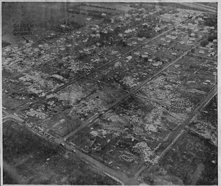 1957 Fargo tornado Fargo Tornado 1957 The Infomercantile