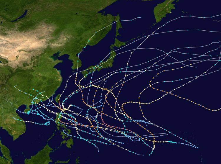 1957 Pacific typhoon season