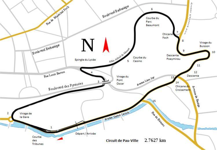1957 Pau Grand Prix