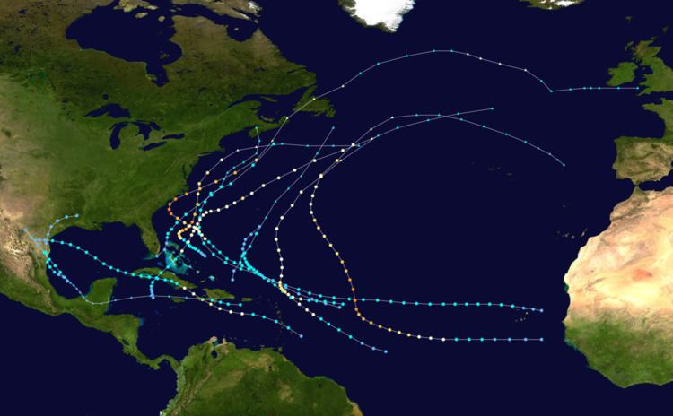 1958 Atlantic hurricane season