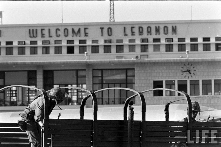 1958 Lebanon crisis Deuce and a Half The M35 family of trucks in Lebanon 2 The USMC