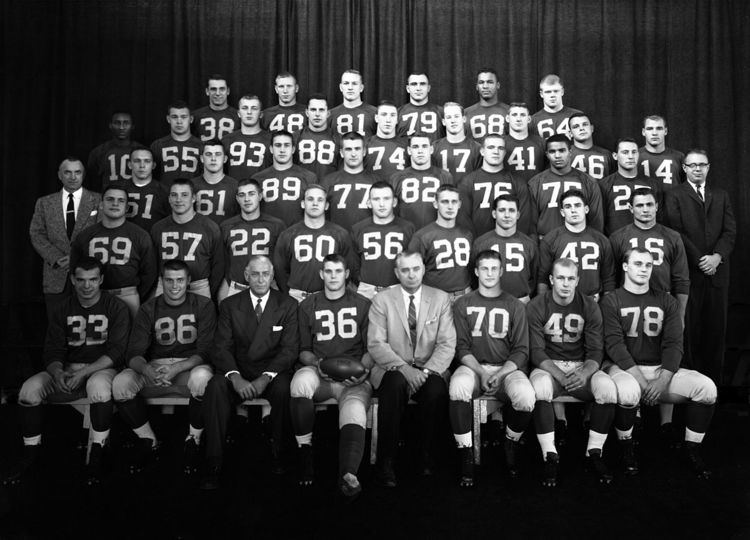 1958 Michigan Wolverines football team