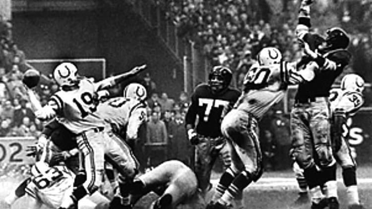 1958 NFL Championship Game Baltimore Colts vs NY Giants The Greatest Game Ever Played