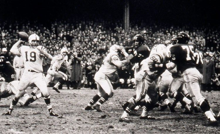 1958 NFL Championship Game The Greatest Game Ever Played39 1958 NFL Championship Colts vs